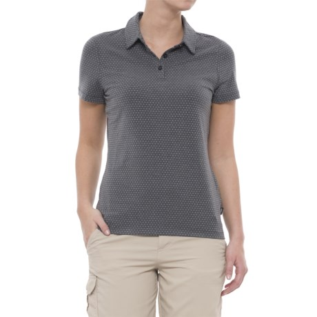 Skechers Go Golf Full Swing Polo Shirt - Short Sleeve (For Women) in Dark Grey