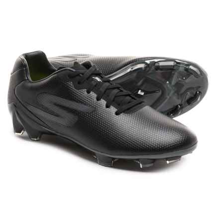 Skechers GO Soccer Galaxy FG Soccer Cleats (For Men) in Black/Black - Closeouts