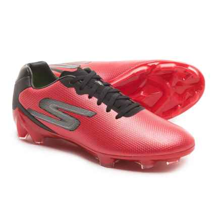 Skechers GO Soccer Galaxy FG Soccer Cleats (For Men) in Red/Black - Closeouts