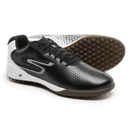 Skechers GO Soccer Hexgo Soccer Shoes (For Men) in Black/White - Closeouts