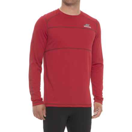 Skechers Go Therm Tempo T-Shirt - Long Sleeve (For Men) in Red - Closeouts