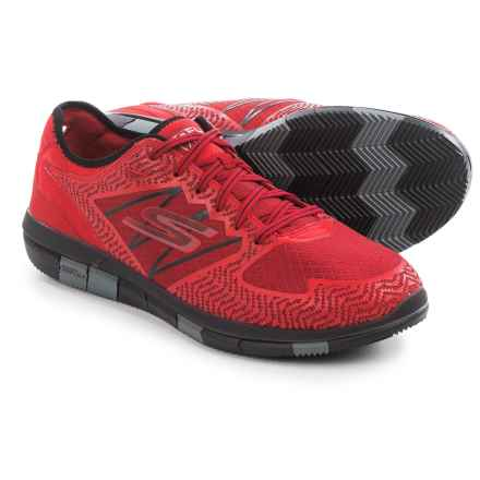 Skechers GOFlex Walk Aviator Walking Shoes (For Men) in Red/Black - Closeouts