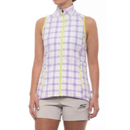 Skechers GOGolf Augusta Vest (For Women) in Lavender - Closeouts