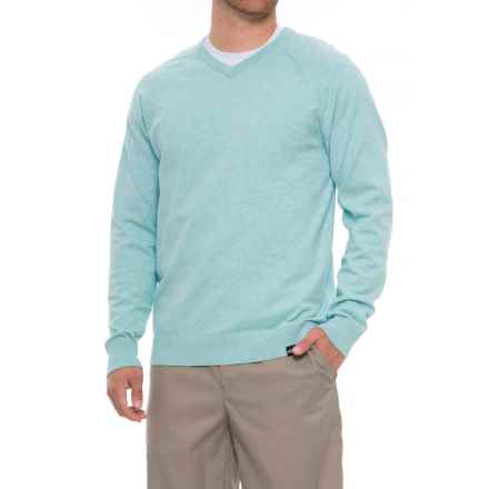 Skechers GOgolf Fairway V-Neck Sweater (For Men) in Seafoam - Closeouts