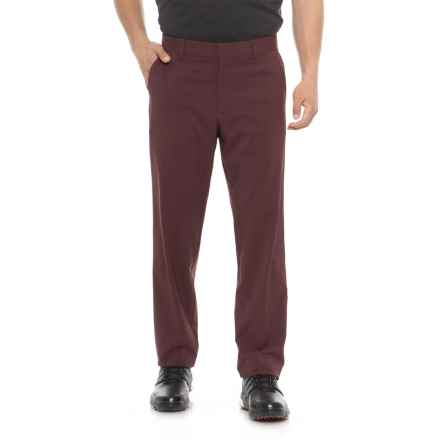 Skechers GOgolf Marshal Chino Pants (For Men) in Burgundy - Closeouts