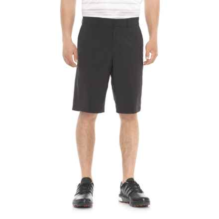 Skechers GOGolf Mesa Chino Shorts (For Men) in Black - Closeouts