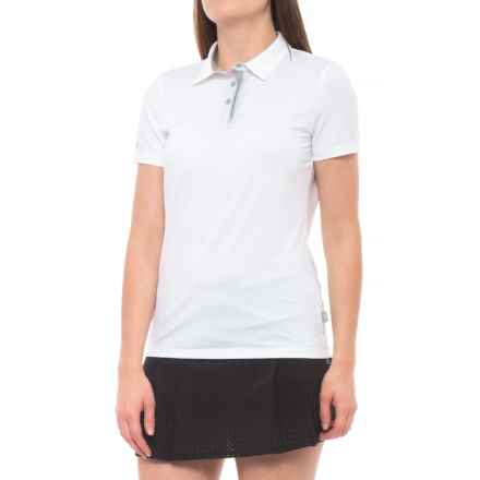 Skechers GOGolf Pitch Golf Polo Shirt - Short Sleeve (For Women) in White - Closeouts