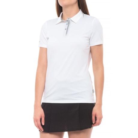 Skechers GOGolf Pitch Golf Polo Shirt - Short Sleeve (For Women) in White