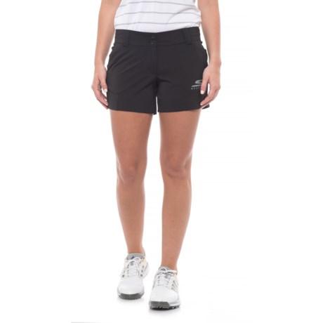 Skechers GOGolf Push Fade Shorts (For Women) in Black