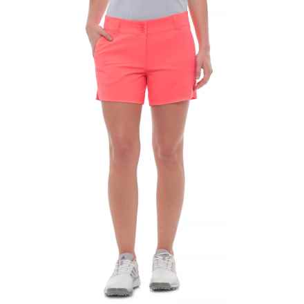 Skechers GOgolf Push Fade Shorts (For Women) in Coral - Closeouts