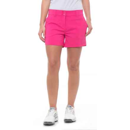 Skechers GOgolf Push Fade Shorts (For Women) in Fuschia - Closeouts