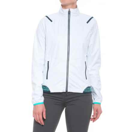 Skechers GOGolf Shield Cropped Jacket (For Women) in White - Closeouts