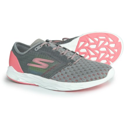 6b9105cb894c GOMeb Speed 5 Running Shoes (For Women) in Gray Pink - Closeouts. Show  Brand Skechers