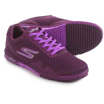 Skechers GOmini Flex Walking Shoes (For Women) in Purple - Closeouts