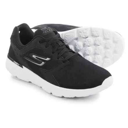 Skechers GORun 400 Accelerate Shoes (For Men) in Black/White - Closeouts