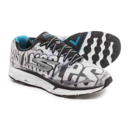 Skechers GOrun Forza 2 Running Shoes (For Men) in Black/White - Closeouts
