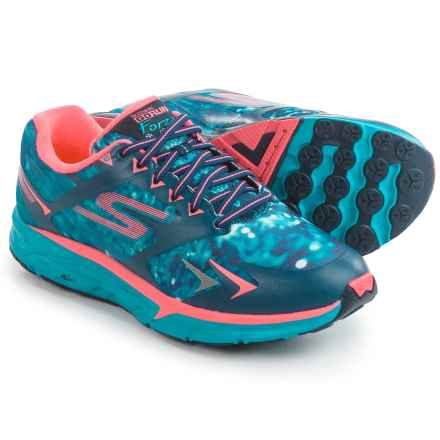 Skechers GORun Forza Climate Series Running Shoes (For Women) in Navy/Teal - Closeouts