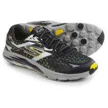 Skechers GOrun Ride 5 Running Shoes (For Men) in Black/Yellow - Closeouts