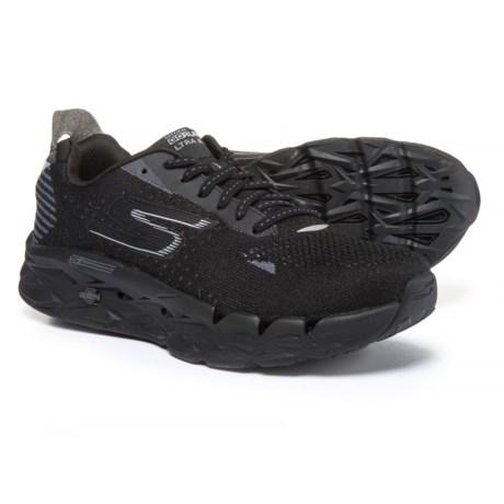 Skechers GORun Ultra Road 2 Running Shoes (For Women) in Black