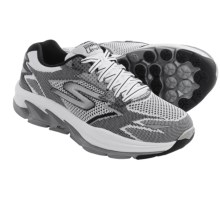 Skechers GOrun Ultra Road Cross-Training Shoes (For Men) in White/Black - Closeouts