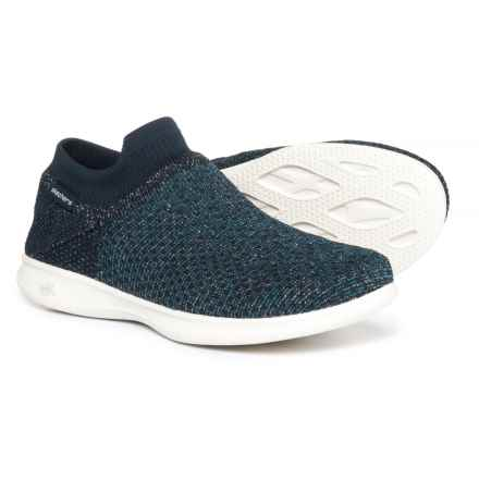 Skechers GOStep Lite Flair Ultrasock Sneakers - Slip-Ons (For Women) in Navy - Closeouts