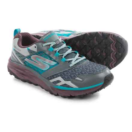 Skechers GOTrail Trail Running Shoes (For Men) in Charcoal/Multi - Closeouts