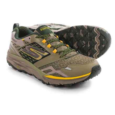 Skechers GOTrail Trail Running Shoes (For Men) in Olive - Closeouts