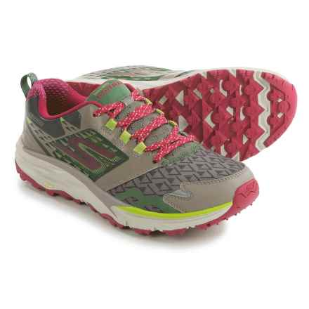 Skechers GOTrail Trail Running Shoes (For Women) in Taupe/Pink - Closeouts