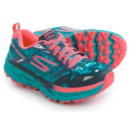 Skechers GOTrail Ultra 3 Climate Series Trail Running Shoes (For Women) in Navy/Teal - Closeouts