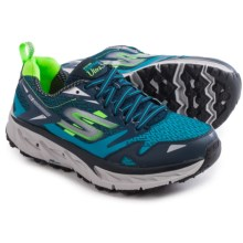 Skechers GOTrail Ultra 3 Trail Running Shoes (For Men) in Blue/Green - Closeouts
