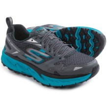 Skechers GOTrail Ultra 3 Trail Running Shoes (For Men) in Charcoal/Blue - Closeouts