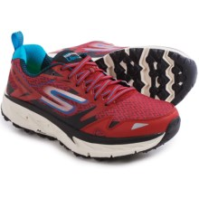 Skechers GOTrail Ultra 3 Trail Running Shoes (For Men) in Red/Black - Closeouts