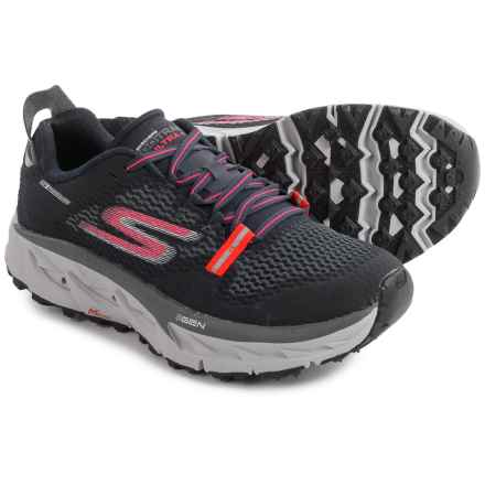 Skechers GOtrail Ultra 4 Trail Running Shoes (For Women) in Navy/Coral - Closeouts