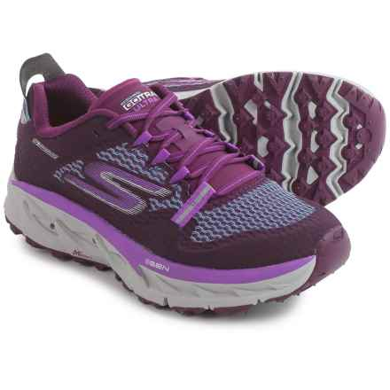 Skechers GOtrail Ultra 4 Trail Running Shoes (For Women) in Purple/Aqua - Closeouts