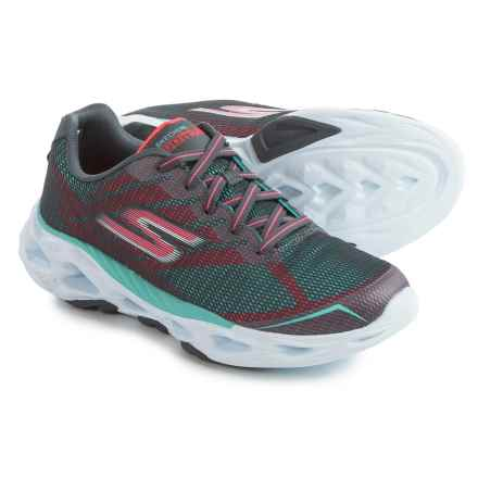 Skechers Gotrain Vortex 2 Cross-Training Shoes (For Women) in Charcoal/Light Blue - Closeouts