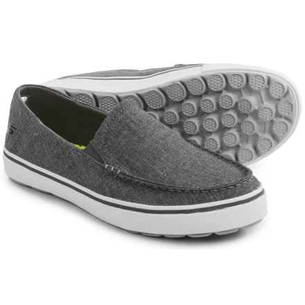 Skechers GoVulc Diverge Canvas Shoes - Slip-Ons (For Men) in Grey - Closeouts