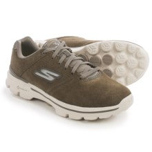 Skechers GOwalk 3 Contend Shoes - Lace-Ups (For Men) in Khaki - Closeouts