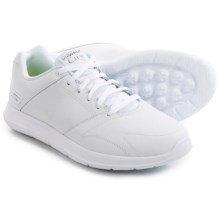 Skechers GOwalk City Resist Sneakers - Leather (For Men) in White - Closeouts