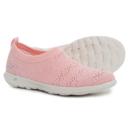 d85131bce74a GOwalk Lite Harmony Sneakers - Slip-Ons (For Women) in Light Pink. Show  Brand Skechers