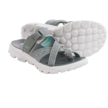 Skechers GOwalk Move Relax Sandals (For Women) in Grey - Closeouts