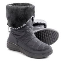 Skechers Halo Ring Winter Boots (For Women) in Charcoal - Closeouts