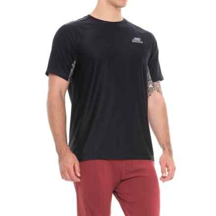 Skechers High-Performance GoRun T-Shirt - Short Sleeve (For Men) in Black - Closeouts