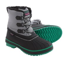 Skechers Highlanders Polar Bear Snow Boots - Waterproof, Insulated (For Women) in Black/Grey - Closeouts
