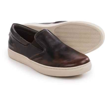 Skechers Mark Nason Gower Leather Shoes - Slip-Ons (For Men) in Red/Brown - Closeouts