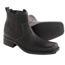 Skechers Mark Nason Rockdale Chelsea Boots - Leather (For Men) in Black - Closeouts