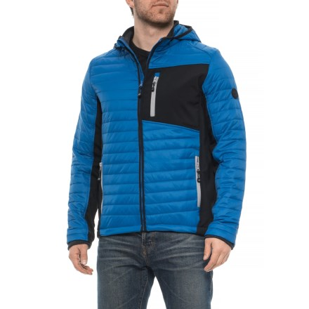 204838de73f4 Nylon Shell Jacket - Insulated (For Men) in Performance Blue