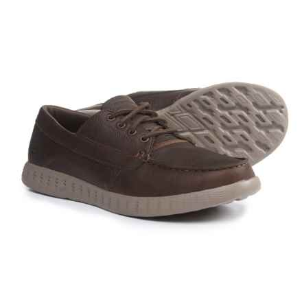 Skechers On-the-Go Glide-Premio Shoes - Leather (For Men) in Chocolate - Closeouts
