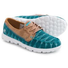 Skechers On-the-Go Ikat Shoes (For Women) in Teal - Closeouts