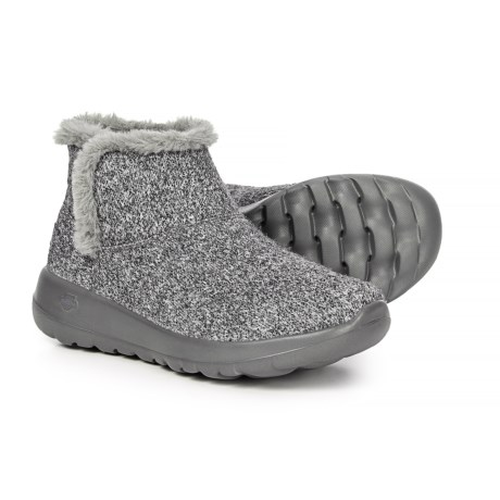 Skechers On the Go Joy Whimsical Boots (For Women) in Charcoal e8a20bc453