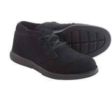 Skechers On-the-Go Kasual Chukka Boots - Leather (For Men) in Black - Closeouts